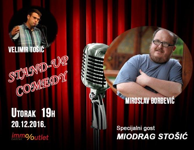 Immo  comedy Stand up veče u IMMO Outlet Centru: Pravo je vreme da se ZABAVIMMO