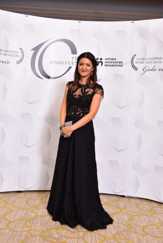 Jelena Bulatovic izvrsni direktor SAM SAM godišnje nagrade dodeljene peti put za redom