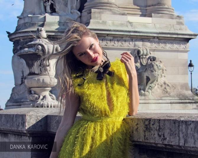 danka karovic 10 880x704 Modna dizajnerka Danka Karović oduševila na reviji u Francuskoj