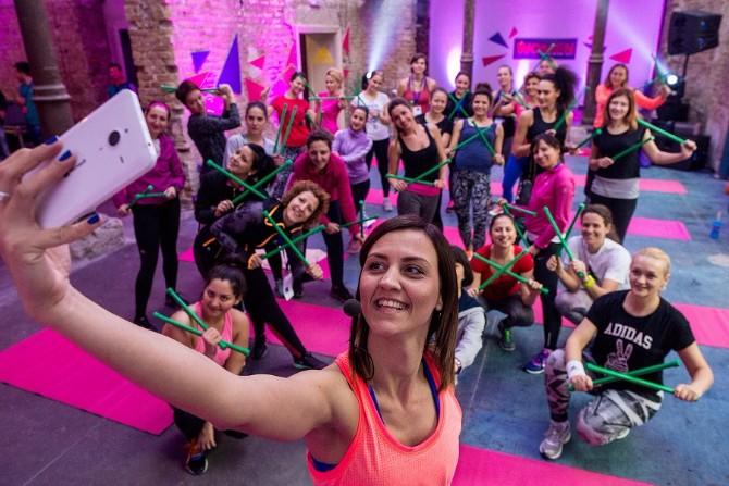 foto213 Trening dan u muzeju: Održan adidas Women Training Day