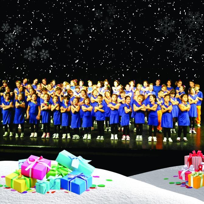 """hor Čarolija Predstava """"Dedina posla"""" i tradicionalni koncert hora Čarolija u Immo Outlet Centru"""