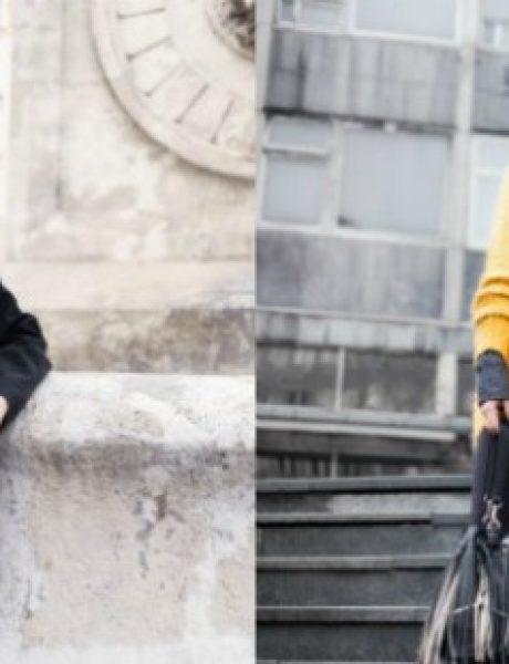 Modne blogerke Bonjour JR i Taste of Fashion predlažu dve savršene zimske kombinacije