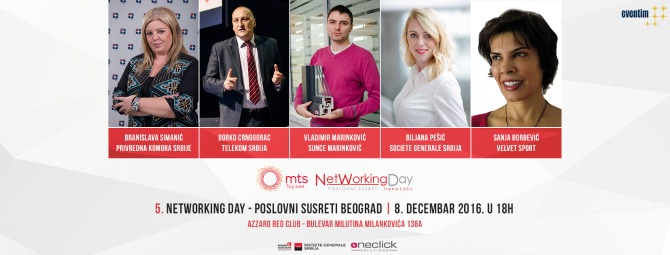 networking day 1 Vreme je za poslovne susrete na 5. NetWorking Day u