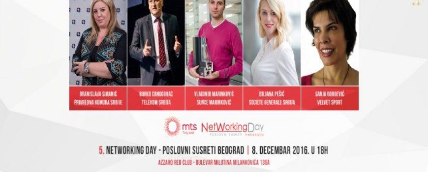 Vreme je za poslovne susrete na 5. NetWorking Day-u