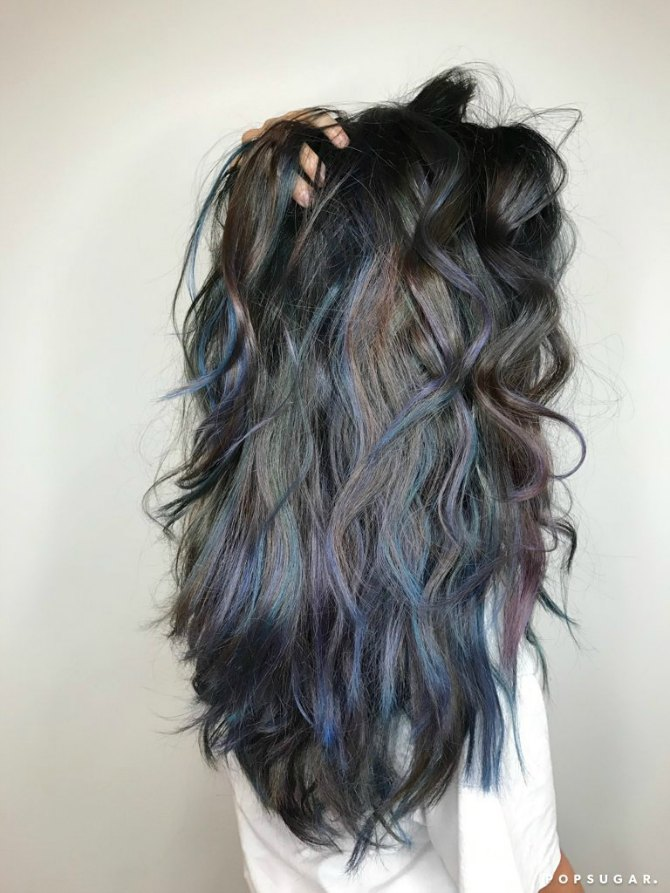 okean 1 Okean plavi pramenovi u braon kosi   novi hair trend koji si dugo čekala!