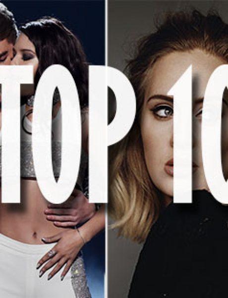 Top 10 pesama koje su obeležile 2016. godinu
