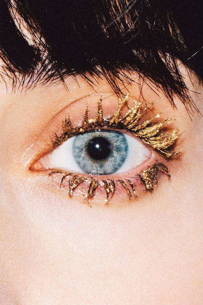 trepavice Tri LAKA makeup trika sa ŠLJOKICAMA za novogodišnju noć
