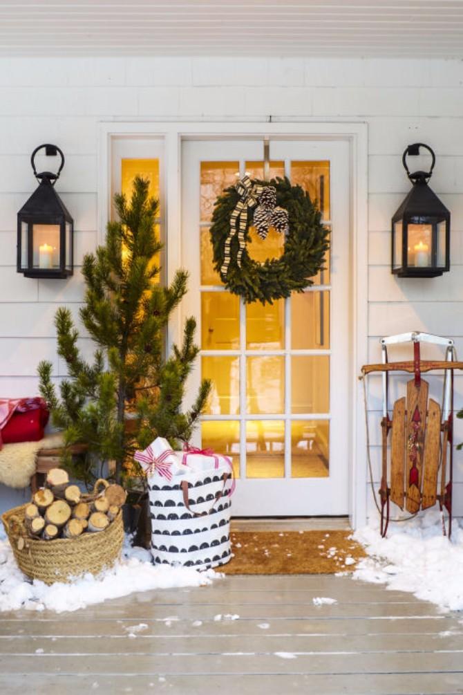 Bo+żi¦çna dekoracija Božićna dekoracija doma koju možeš napraviti sama