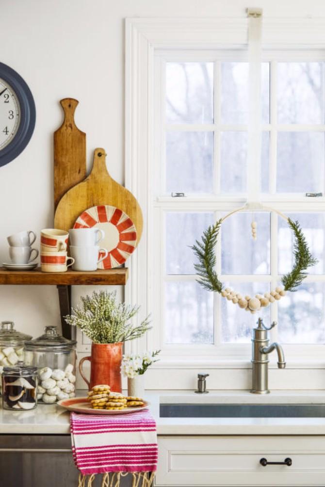 Bo+żi¦çna dekoracija2 Božićna dekoracija doma koju možeš napraviti sama