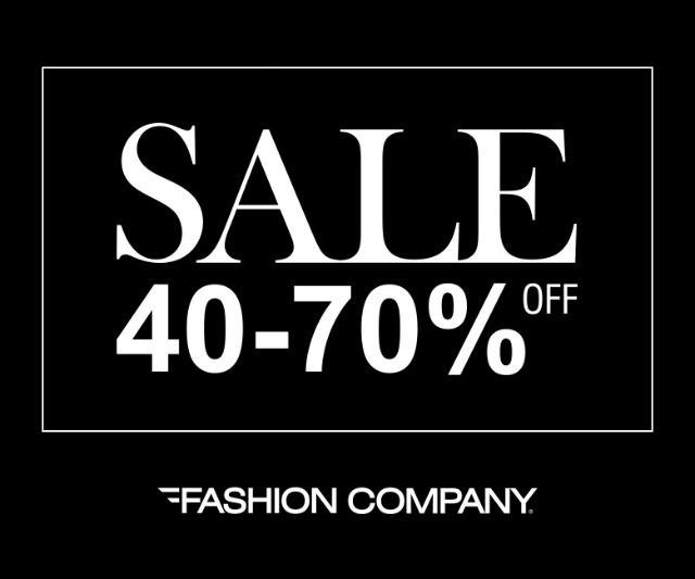 Fashion Company Sezonsko sniženje od 40 do 70% koje će vas obradovati