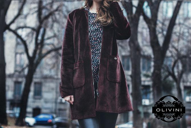 Wannabe Olivini W670 2017 01 04 21 3 trendi načina kako da nosiš bordo kaput ove zime