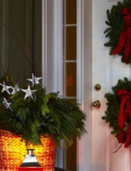 Božićna dekoracija doma koju možeš napraviti sama