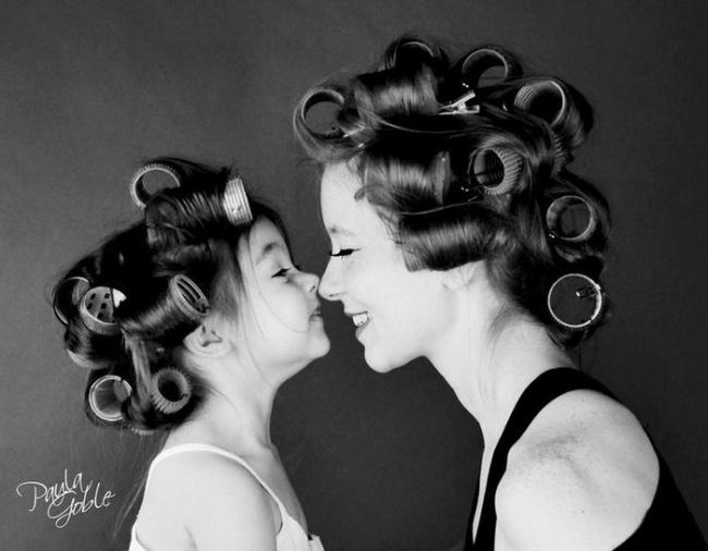 cerke 1 Da se istopiš: 15 fotografija na kojima su ćerke ISTE majke