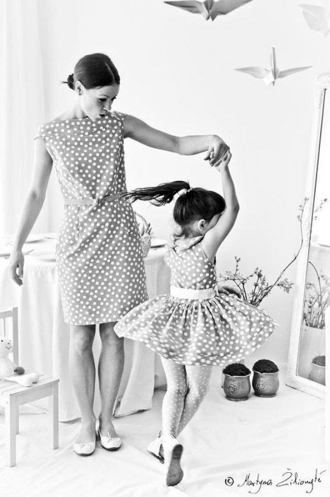 cerke 3 Da se istopiš: 15 fotografija na kojima su ćerke ISTE majke