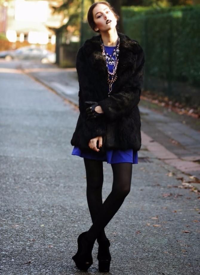 edgy glam 1 Edgy Glam inspiracija: Stil ove modne blogerke sasvim će vas zavesti