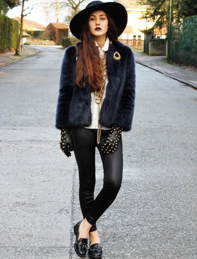 edgy glam 3 Edgy Glam inspiracija: Stil ove modne blogerke sasvim će vas zavesti