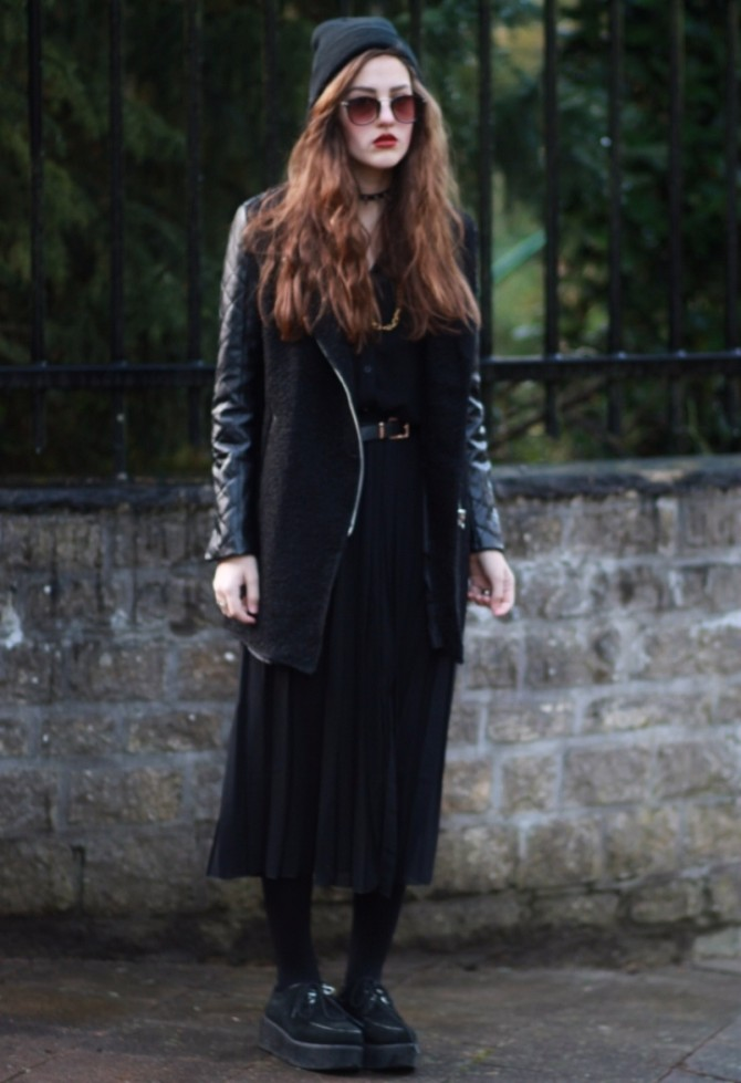 edgy glam 4 Edgy Glam inspiracija: Stil ove modne blogerke sasvim će vas zavesti