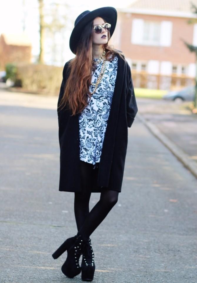edgy glam 9 Edgy Glam inspiracija: Stil ove modne blogerke sasvim će vas zavesti