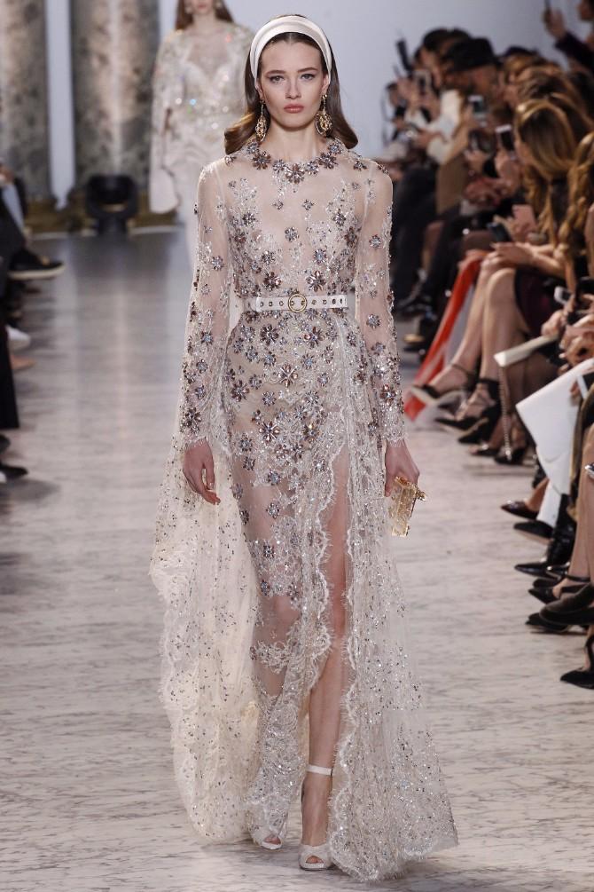 elie saab 9 Romantičan i edgy treći dan Nedelje visoke mode u Parizu (GALERIJA)