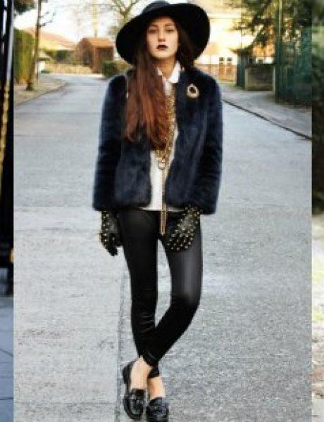 Edgy Glam inspiracija: Stil ove modne blogerke sasvim će vas zavesti