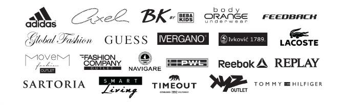 logotipi ucesnika Najluksuzniji proizvodi po najpovoljnijoj ceni u Fashion Park Outlet Centru Inđija!