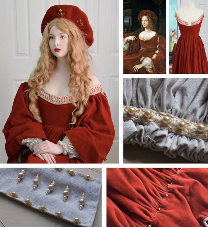 neverovatne haljine7 Ova devojka kreira neverovatne haljine koje će vas impresionirati