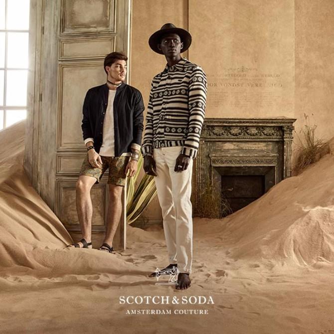 600 600 2 Bogatstvo prirode kao inspiracija brenda Scotch&Soda za prolećnu kolekciju