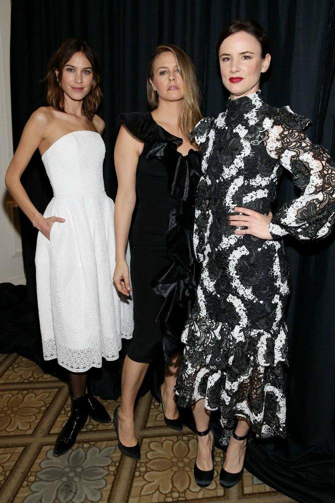 Alexa Chung Alicia Silverstone and Juliette Lewis. Nedelja mode u Njujorku   izbliza (GALERIJA)