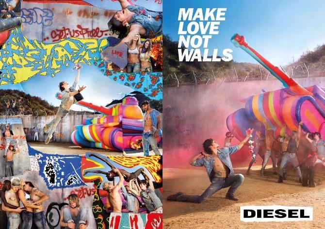 Diesel Campaign SS17 Tank DPS Rušite zidove i širite ljubav odeveni u novu Diesel kolekciju