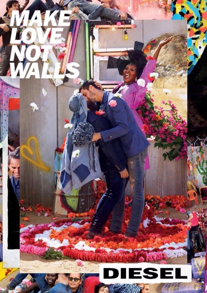 Diesel Campaign SS17 Wedding Gay SP Rušite zidove i širite ljubav odeveni u novu Diesel kolekciju