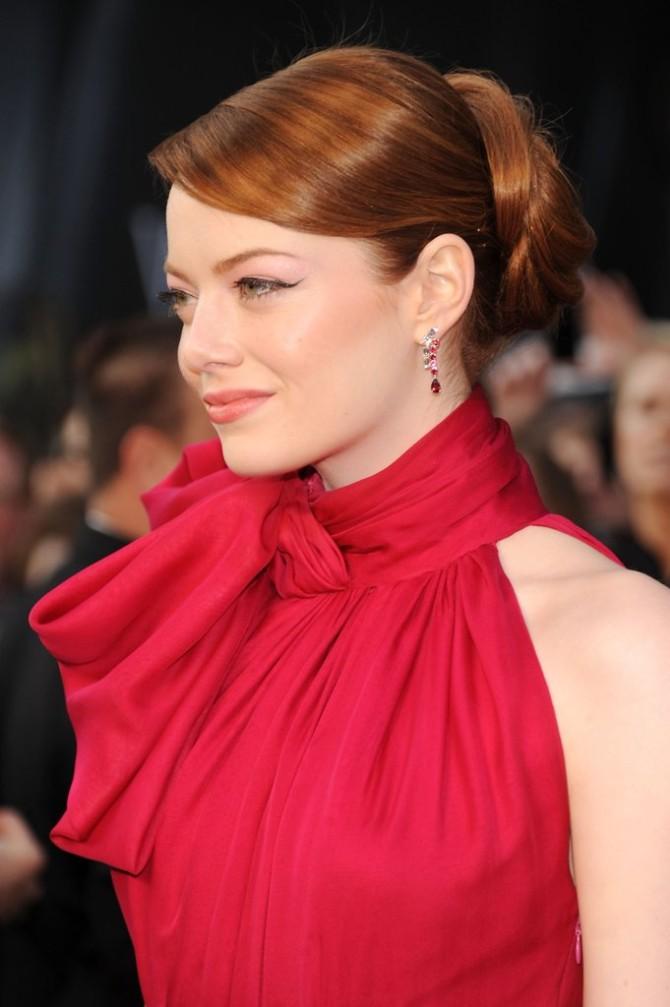 Emma Stone 2012 15 najboljih frizura sa dodele Oskara
