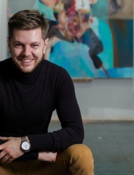 Mlad i perspektivan umetnik otvara izložbu u Galeriji ULUS