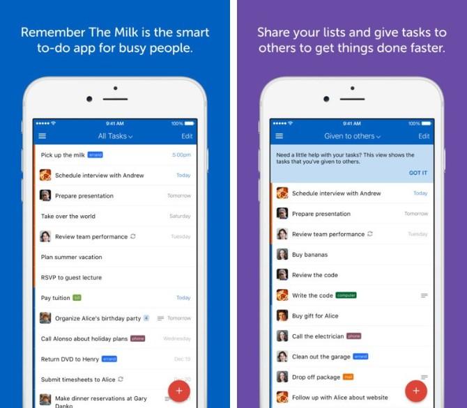 Remember Milk1 To Do aplikacije zbog kojih ćeš napokon postati organizovanija