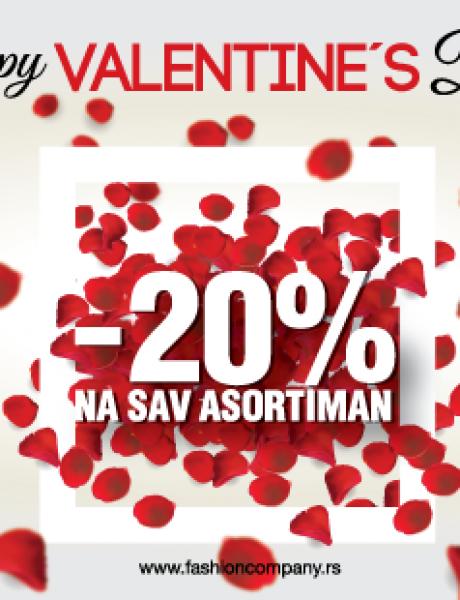 Velika Valentine's Day akcija u prodavnicama Fashion Company-a!
