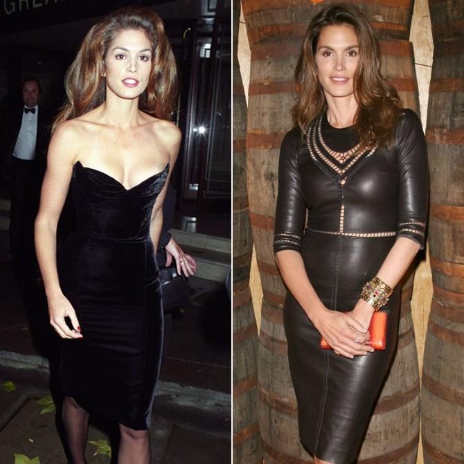 crna haljina Lekcije stila Sindi Kraford bez roka trajanja