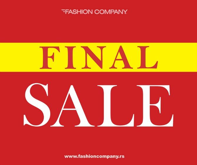 fashion company Finalno sniženje u prodavnicama Fashion Company