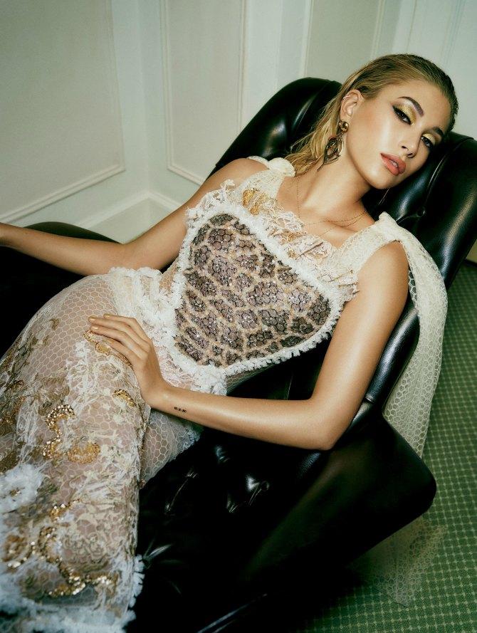 hejli boldvin 1 Poznati modeli kao inspiracija za tvoju večernju šminku