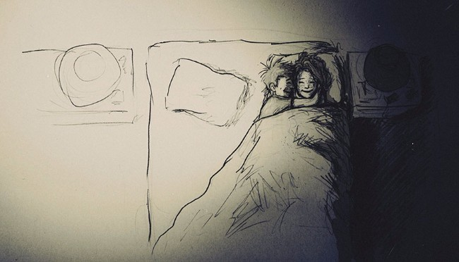 ilustracije 1 Ljubav je kad se volite i to na papiru nacrtate (ILUSTRACIJE)