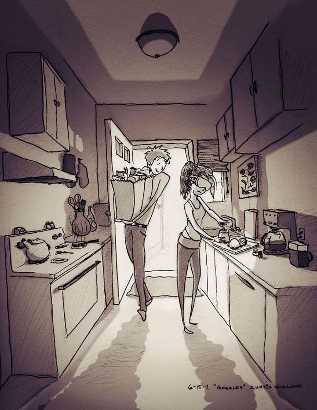 ilustracije 3 Ljubav je kad se volite i to na papiru nacrtate (ILUSTRACIJE)