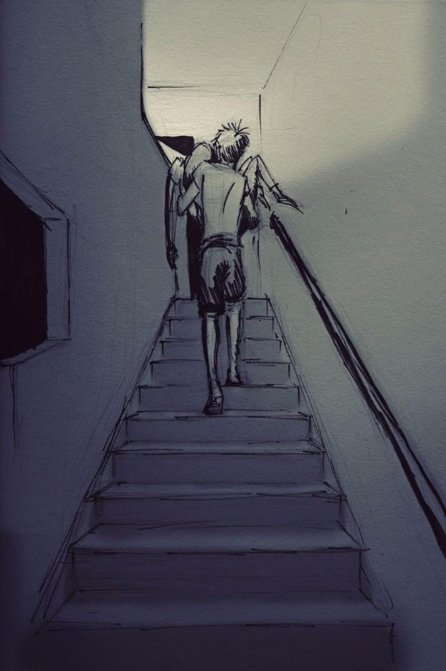 ilustracije 4 Ljubav je kad se volite i to na papiru nacrtate (ILUSTRACIJE)