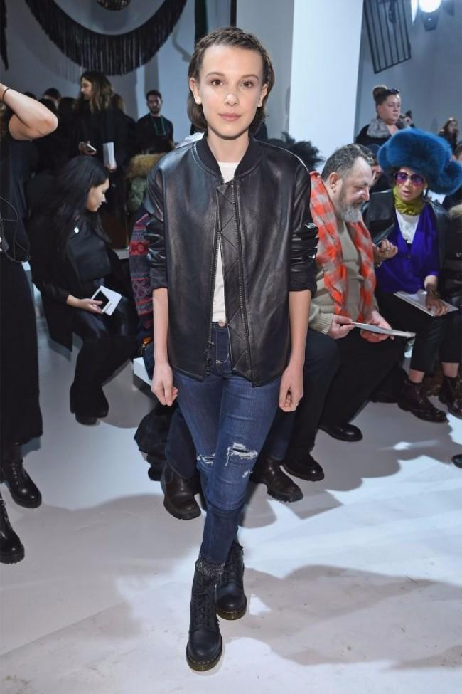 mili bobi braun Od ulice, preko bekstejdža, do piste: Najbolje kombinacije sa Nedelje mode u Njujorku
