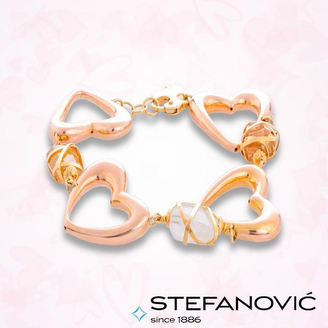 narukvica zlatara stefanovic Šta nakit koji dobiješ za Dan zaljubljenih govori o tvojoj vezi?