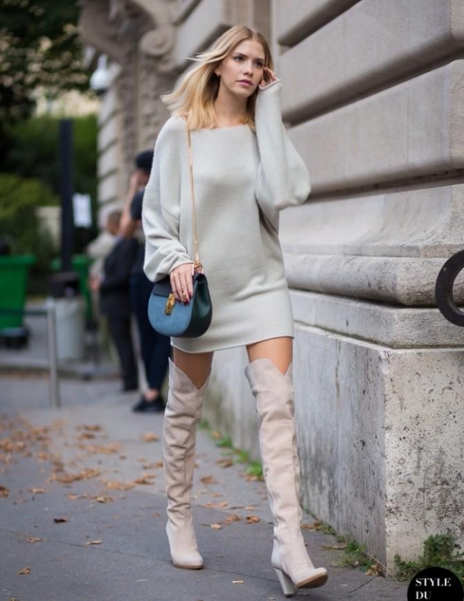overknee boots 1 #FashionInspo: Kako da stilizuješ čizme iznad kolena