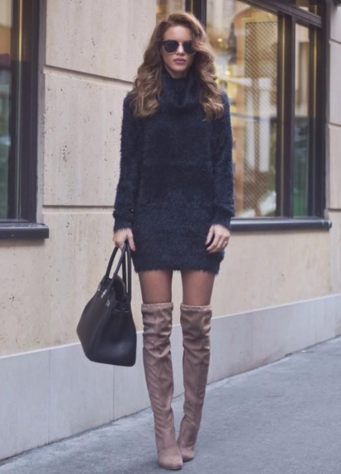 overknee boots 2 #FashionInspo: Kako da stilizuješ čizme iznad kolena