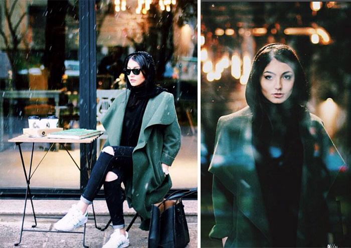 stil iranki 2 Street style kombinacije koje će razbiti predrasude prema stilu Iranki