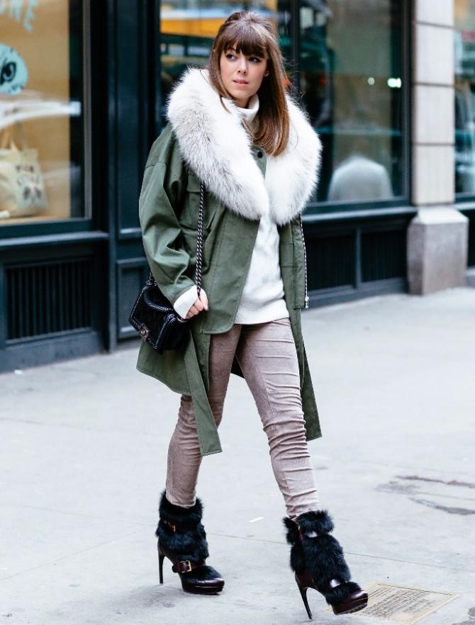 zimski kaput 3 Kako da uz zimski kaput budeš uvek savršeno stilizovana?