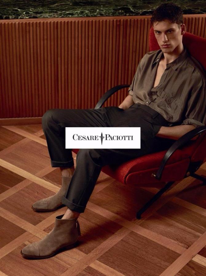 3 6 Estetski preobražaj brenda Cesare Paciotti u prolećnoj kampanji