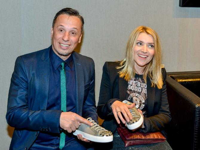 Andjelka Prpic i Nenad Radujevic Beograd posetio jedan od najboljih modnih znalaca   Roberto Botičeli
