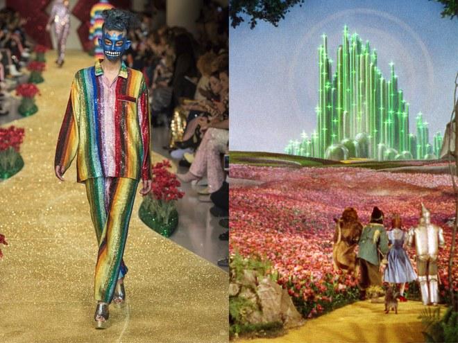 Ashish Fall 2017 The Wizard of Oz 1939 Filmski klasici koji su poslužili kao inspiracija ovogodišnjim jesenjim kolekcijama