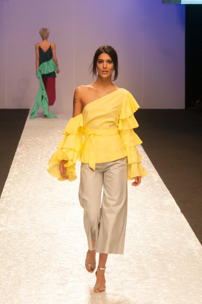 Bojana Jovetić 1 Originalno drugo veče Belgrade Fashion Week a
